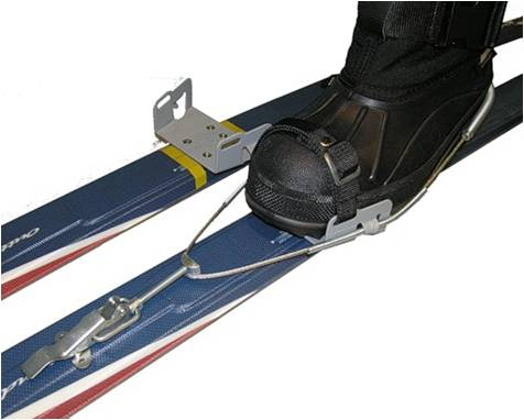 Детские лыжные крепления своими руками