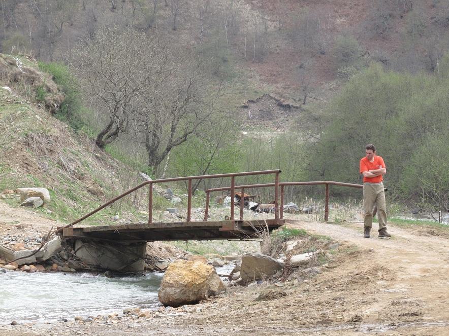2. Мост через Хасаут, начало пешки