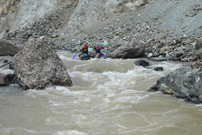 21. Порог на выходе из каньона Короткий