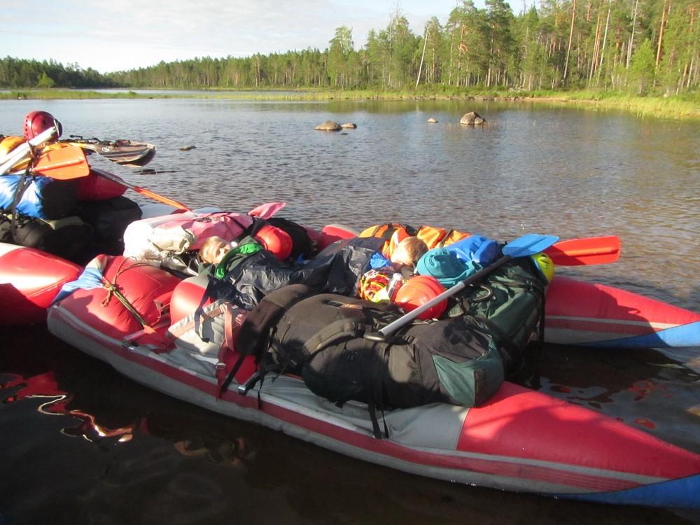 Отчет о водном туристском походе  третьей категории сложности по северной Карелии